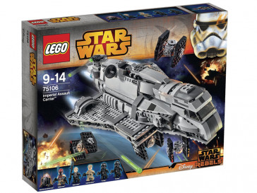 STAR WARS IMPERIAL ASSAULT CARRIER 75106 LEGO