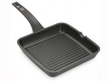 GRILL EFFICIENT RAYAS 28X28CM A271428 BRA