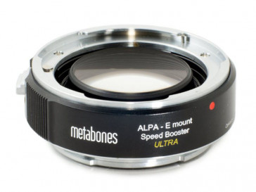 SPEED BOOSTER ULTRA ALPA TO SONY E-MOUNT METABONES