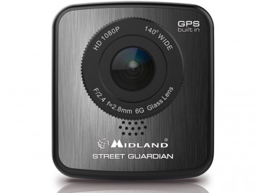 "STREET GUARDIAN GPS 2"" FULL HD C1174.01 MIDLAND"