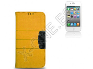 FUNDA ELITE COVER IPHONE 4S NARANJA 7905 X-ONE ACCESSORIES