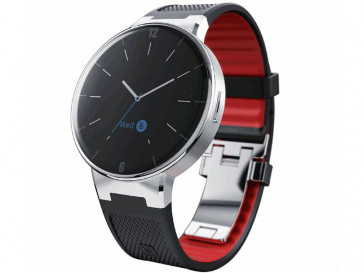 SMARTWATCH SM-02 WAVE SMARTBAND BLACK/DARK RED ALCATEL