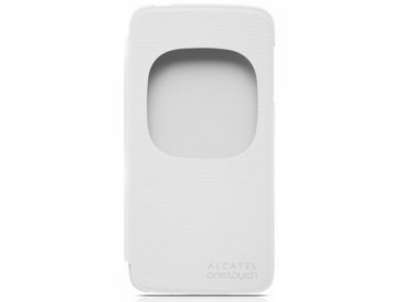 FUNDA FLIP COVER WINDOW IDOL 3 (4.7) BLANCO ALCATEL