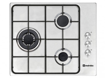 PLACA DE COCINA MEIRELES MG3630X GAS NATURAL 60CM 3 QUEMADORES