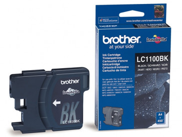 CARTUCHO TINTA NEGRA LC1100BK BROTHER