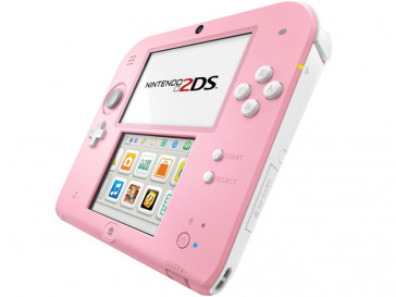 CONSOLA 2DS ROSA/BLANCA + ANIMAL CROSSING NINTENDO