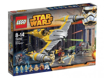 STAR WARS NABOO STARFIGHTER 75092 LEGO