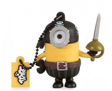 PENDRIVE 16GB EYE MATIE PIRATA SILVER HT