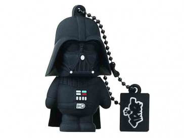 PENDRIVE TRIBE STAR WARS DARTH VADER 16GB SILVER HT