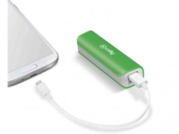 POWERBANK 2600MAH PB2600GN (GR) CELLY