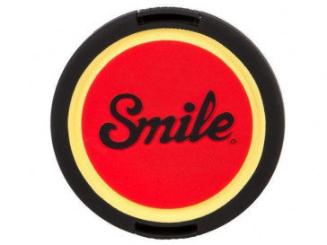 TAPA OBJETIVO PIN UP 55MM SMILE