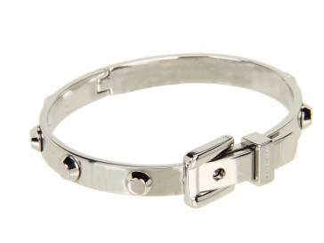 ASTOR BUCKLE BANGLE SILVER MKJ1820-040 MICHAEL KORS