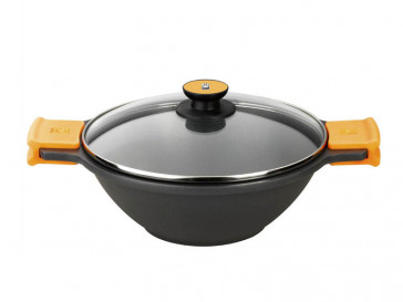 SARTEN EFFICIENT WOK INDUCCION 28 CM BRA