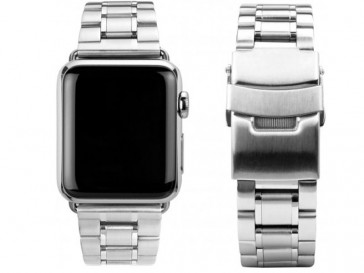 CORREA ACERO PARA APPLE WATCH 42MM MBD42AW-SLV PLATA CASEUAL