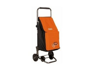 CARRO COMPRA NEW FORZUDO PLEGABLE ORANGE PLAY