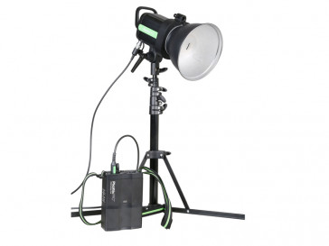 KIT FLASH INDRA 500 TTL + PACK BATERIAS PHOTTIX