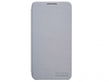 FUNDA FLIP COVER POP 3(5) PLATA ALCATEL