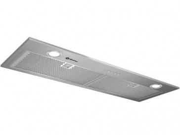CAMPANA BALAY INTEGRABLE 86CM GRIS METALIZADO LED 3BF-859XP