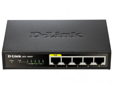 SWITCH ETHERNET DES-1005P D-LINK
