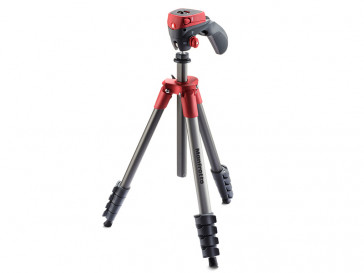 TRIPODE COMPACT ACTION ROJO MANFROTTO