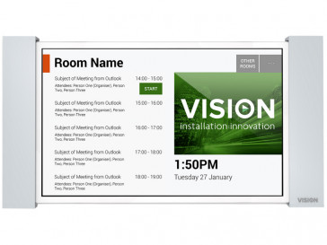 TABLET FREESPACE ROOM BOOKING VFS VISION