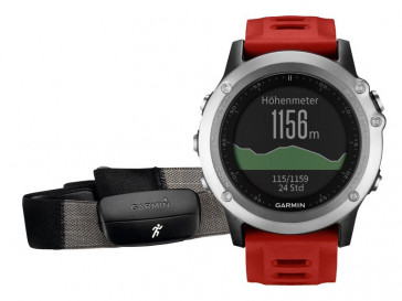 SET FENIX 3 PERFORMER BUNDLE SILVER GARMIN