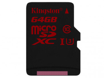 MICRO SDXC 64GB UHS-I U3 (SDCA3/64GBSP) KINGSTON