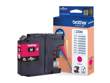 CARTUCHO TINTA MAGENTA LC223MBP BROTHER
