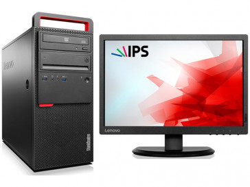 KIT THINKCENTRE M800 (10FW000USP) + MONITOR THINKVISION E2054 (60DFAAT1EU) LENOVO