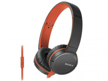 AURICULARES MDR-ZX660AP NARANJA SONY