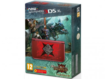 CONSOLA NEW 3DS XL + MONSTER HUNTER NINTENDO