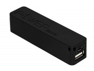 POWER BANK 2600MAH NEGRO WOXTER