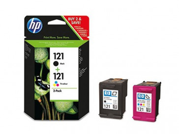 PACK CARTUCHO TINTA 121 (CN637HE) HP