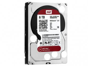 RED 6TB WD60EFRX WESTERN DIGITAL