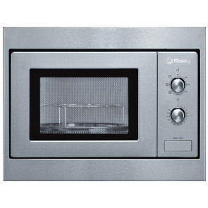 MICROONDAS INTEGRABLE BALAY 18L 800W ACERO CON GRILL 3WGX1953