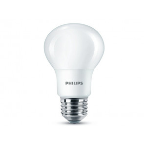 BOMBILLA LED ESFERICA E27 8W (60W) LUZ BLANCA CALIDA PHILIPS